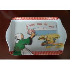 Buy cheap Popular Design Melamine Plastic Plates Innocuity For Dinnerware Tableware from wholesalers