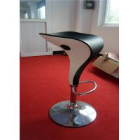 Wholesale Unique Style Outdoor Plastic Bar Stools Backless PU Seat Spoon Shape from china suppliers