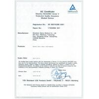 Shenzhen Rogin Medical Co., Ltd Certifications