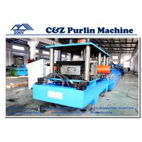 Wholesale High Speed C Z Purlin Roll Forming Machine With 15-25M/Min Production Speed from china suppliers