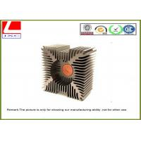 Wholesale Customize anodized heatsink / Aluminum Heat Sink profile for auto engine from china suppliers