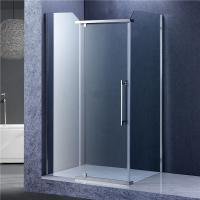 Quality Bathroom Rectangular Shower Enclosure , 3 Panels Glass Shower Cubicles for sale