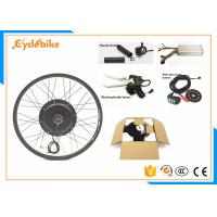 Wholesale Rear / Front Wheel Electric Mountain Bike Conversion Kit Thumb Throttle Or Twist Throttle from china suppliers