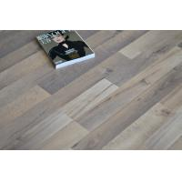 Wholesale Oak Wood Waterproof Laminate Flooring , Square edge, Wax Coated Flooring ,Double Click from china suppliers