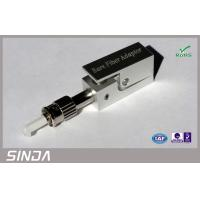 Buy cheap RoHS Square type FC Bare single mode fiber attenuator for Splice & Test from wholesalers