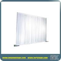 Event wedding aluminum backdrop stand pipe drape,pipe and drape wedding backdrop