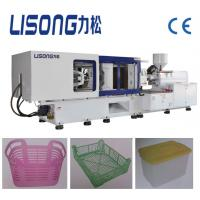 Buy cheap 320ton full automatic plastic injection molding machine with servo motor for HDPE PP PS crate from wholesalers