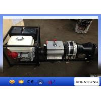 Wholesale 5T Fast Speed Gas Engine Powered Winch JJM5B With Honda Engine 13HP from china suppliers
