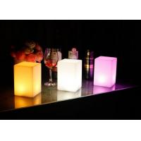 Buy cheap Rechargeable 16 colors changed  cordless LED bar club home decoration table lamp offered from wholesalers