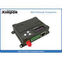 Wholesale Full Duplex Wireless Ethernet Video Transceiver , RJ45 COFDM Transmitter Receiver from china suppliers