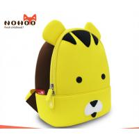 Wholesale 6-7L Kids Tiger Backpack , Yellow Toddler Backpack Water Resistant from china suppliers