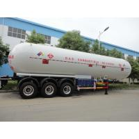 Wholesale CLW brand 3 axle 56cbm liquefied petroleum gas transport semi-trailer for sale, factory sale 56m3 lpg gas tank trailer from china suppliers