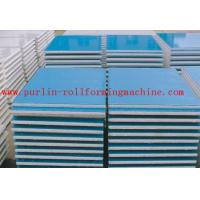 Wholesale Automatic EPS and Rock Wool Sandwich Panel Roll Forming Machine High Speed and Durable from china suppliers