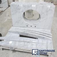Wholesale Carrara White Marble Bathroom Vanity Top from china suppliers