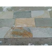 Wholesale Oyster Split Face Slate Pavers,Natural Paving Stone,Wall Tiles/Walkway/Desert Gold Patio Stones from china suppliers