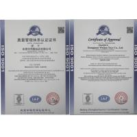 Dongguan Weijun Toys Co., Ltd. Certifications