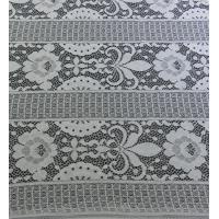Wholesale Floral Trident Polka dots Cotton Nylon Lace Fabric For Dressing  152CM Width from china suppliers