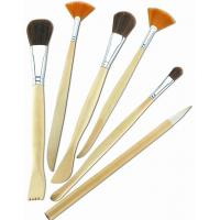 Wholesale Synthetic & Wool & Mixture Hair Artist Painting Brushes Set Aluminium Ferrule Handle from china suppliers