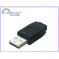 Wholesale 480Mbps / 28AWG connectors Cableader USB adapter A male-Mini 5 Pin Jack from china suppliers