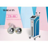 China 3MHZ Anti Wrinkle Fractional Microneedle RF Stretch Mark Removal Acne Treatment Machine on sale