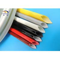Wholesale 200℃ High Temperature Resistant Silicone Coated Fiberglass Sleeving for Transformers/Generator/AC motor from china suppliers