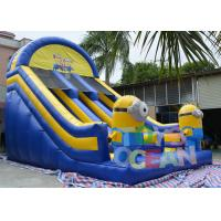 Wholesale CE Adults Despicable Minions Inflatable Slides With 0.55mm PVC Tarpaulin from china suppliers
