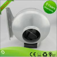 Wholesale 125mm Ventilation In-line Metal Inline Fan Centrifugal Air Blower from china suppliers