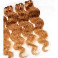 Quality Colorful Human Hair Extensions For Girls , Colored Real Hair Extensions for sale