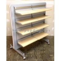 Wholesale Store Retail Gondola Shelving Clothing Retail Merchandise Displays Double Sided from china suppliers