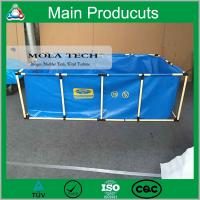 Wholesale 1m3 2m3 3m3 Portable Plastic PVC Small Fish Tanks from china suppliers