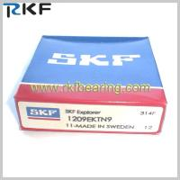 Wholesale P6, P5, P4, P4A, P7 SKF Self-aligning Ball Bearing SKF 1209 EKTN9 With Tapered Bore from china suppliers