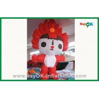 Wholesale Custom Colorful 210D Oxford Cloth Inflatable Cartoon Characters For Advertising from china suppliers
