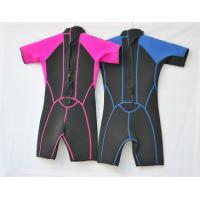 Quality Neoprene Surf Suit in 3mm SBR Material Laminate Black / Tan polyester for Boys and Girls for sale