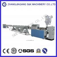 Quality Plastic Large Diameter Pe Hdpe Pipe Extrusion Line For Water Supply Single pipe extruder  CE for sale