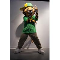 Wholesale yellow tiger mascot cartoon costume  from china suppliers