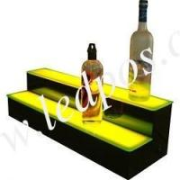 Wholesale Two Tiers LED Lighted Liquor Display Bar Shelf from china suppliers