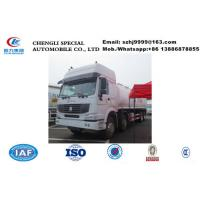 Wholesale China high quality SINO TRUK HOWO 8*4 35CBM oil tanker truck sale, factory sale cheaper price HOWO fuel tank truck from china suppliers