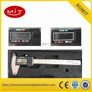 Quality LCD Reading Carbide Tipped Measuring Face Depth Vernier Caliper High Precision for sale