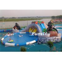 Wholesale Mobile Inflatable Water Park Land Used for Entertainment from china suppliers