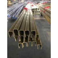 Wholesale C3800 Copper Alloy U Shape and Brass Extrusion U Channel for Decoration from china suppliers