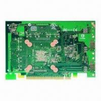 Quality 6-layer PCB with Gold Finger, HAL Surface Finish and 1oz Copper Thickness for sale