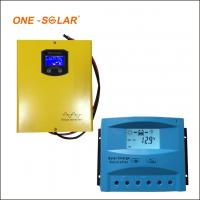 Buy cheap 10A 20A 30A Solar Charger Controller , 12v 24v auto LCD screen PWM solar charger from wholesalers