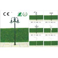 Wholesale T53-Custom 6V Luminous Street Scale Model Lamppost 5.5cm for HO Train Layout from china suppliers