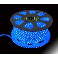 Wholesale 100m/roll LED 2 wires round rope light;60 leds/m DC12V/24V/AC110/220V  blue color from china suppliers