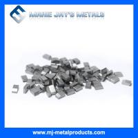 Quality High quality hot selling Coated Tungsten carbide saw tips for cutting metals for sale