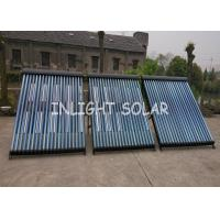 Wholesale Black Heat Pipe Solar Collector 20 Tube Rockwool Polyurethane Insulation from china suppliers