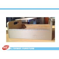 Wholesale Modern Wood Countertop Display Stand For Supermarket , LOGO Sticker from china suppliers