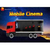 Wholesale Professional 3D 4D 6D 7D Mobile 5D Cinema Truck With Volatile Motion Chair from china suppliers