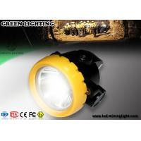 Wholesale PC Small All in one Rechargeable LED Headlamp / waterproof coal miners lamp from china suppliers