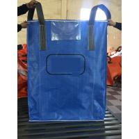 Wholesale High quality blue color PP woven circular jumbo bags with square bottom sift-proofing from china suppliers